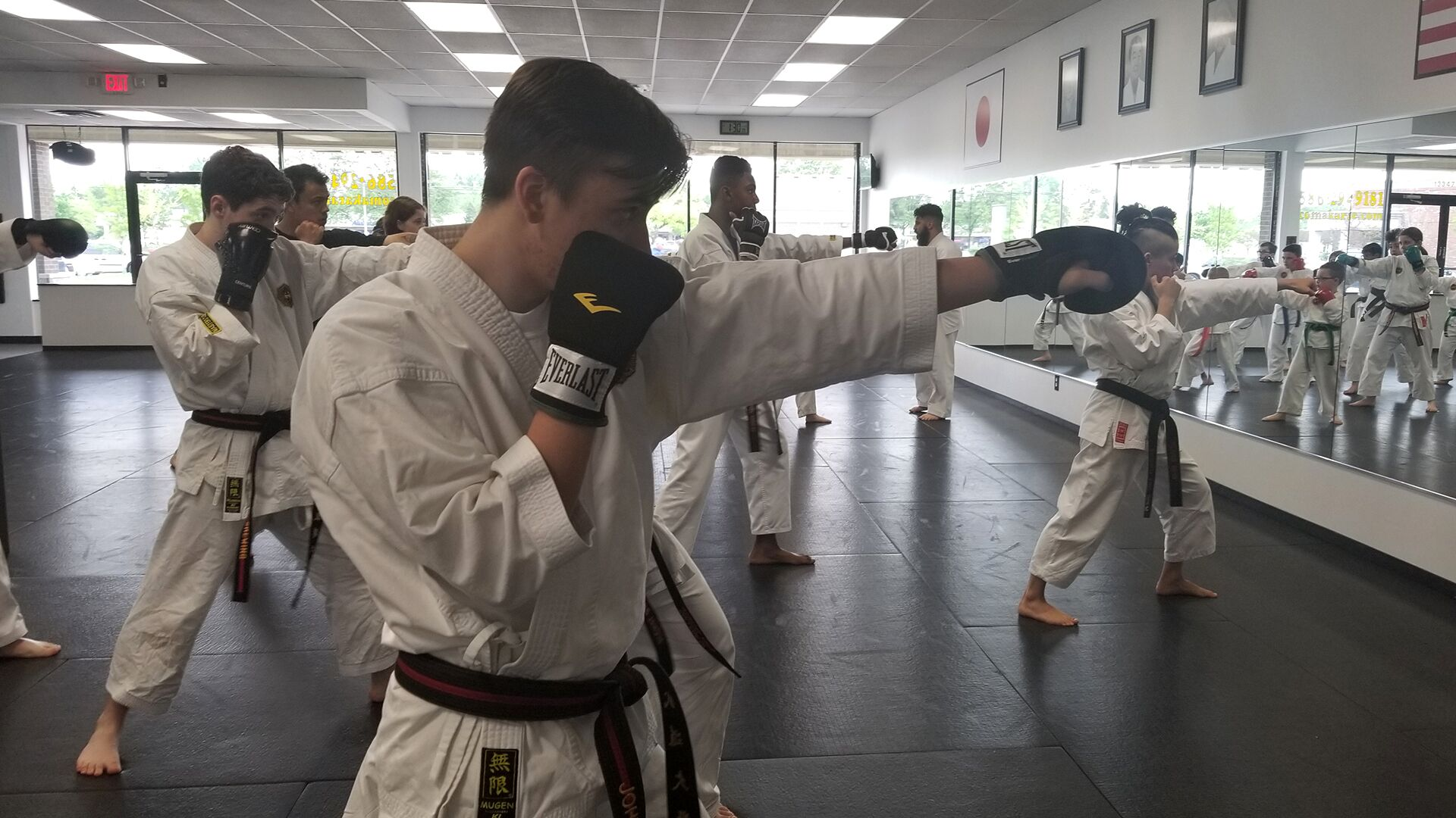 Michigan teens marshal arts fist fighting